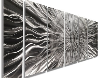 f1eaf998768 Contemporary Silver Wall Sculpture