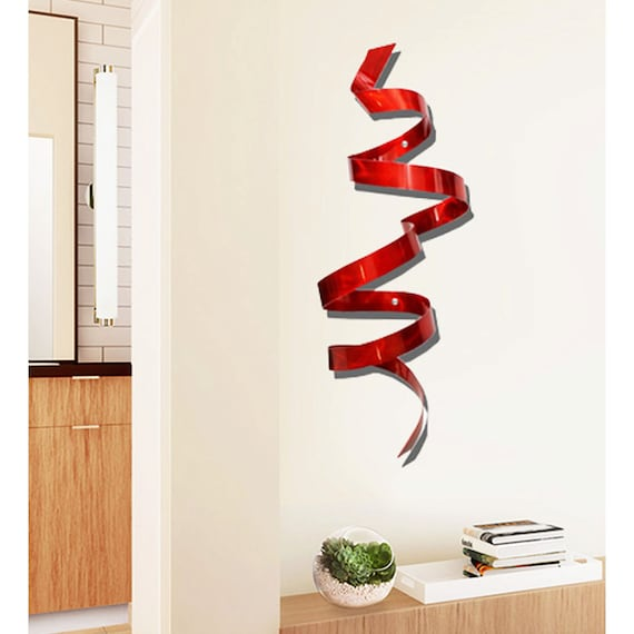 Statements2000 Metal Wall Art Sculpture Abstract Decor Jon Allen Cardinal Twist