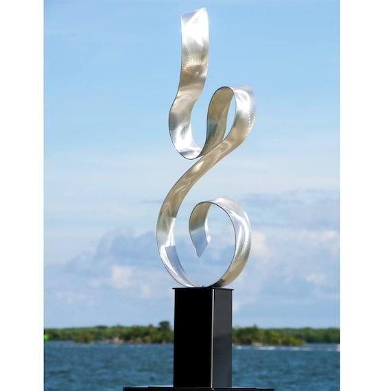 Large Metal Sculpture Indoor Outdoor, Outdoor Metal Artwork