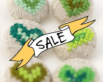 SALE - St. Patrick - Special Edition Buttons