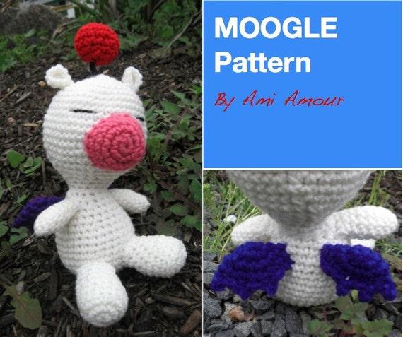 Moogle Muster häkeln Amigurumi Puppe PDF | Etsy