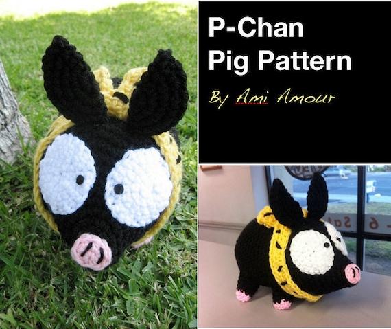 Pchan Schwein Muster häkeln Amigurumi | Etsy