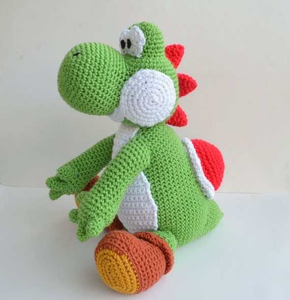 Yoshi Pattern Amigurumi Crochet Pdf Etsy