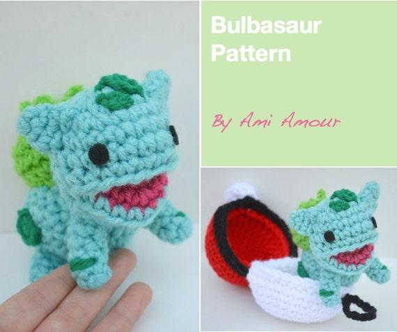 Knitting Pattern for Bulbasaur Pokemon - Bulbasaur pokemon ... | 477x570