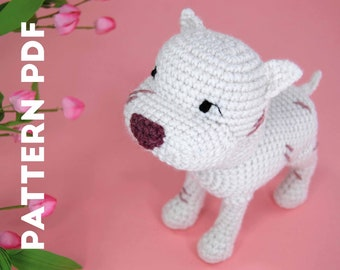 PDF CROCHET PATTERN - Pibble - Pitbull - Kitbull