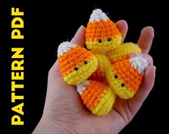 PDF CROCHET PATTERN - Candy Corn