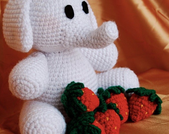 PDF CROCHET PATTERN - Harrison the Elephant
