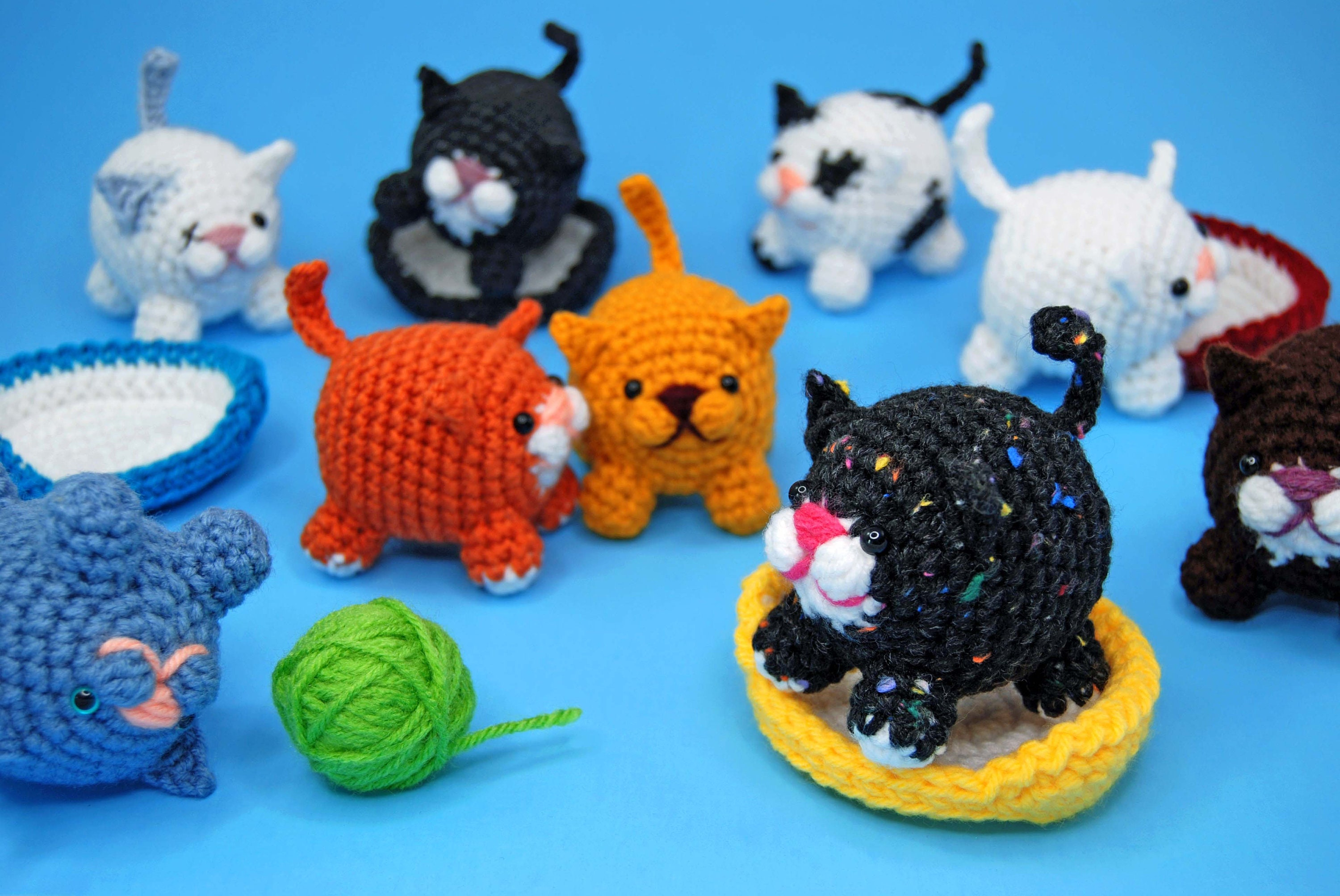 9 Crochet Cat Patterns -Amigurumi Tips - A More Crafty Life | 2008x3000