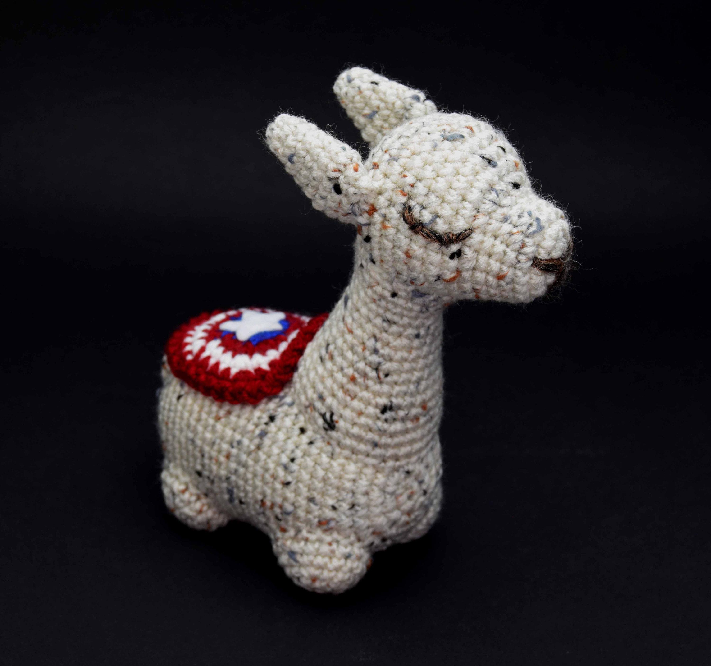 Amazon.com: Cute Crochet Llama Peppercorn Lovely & Cuddle ... | 2809x3000