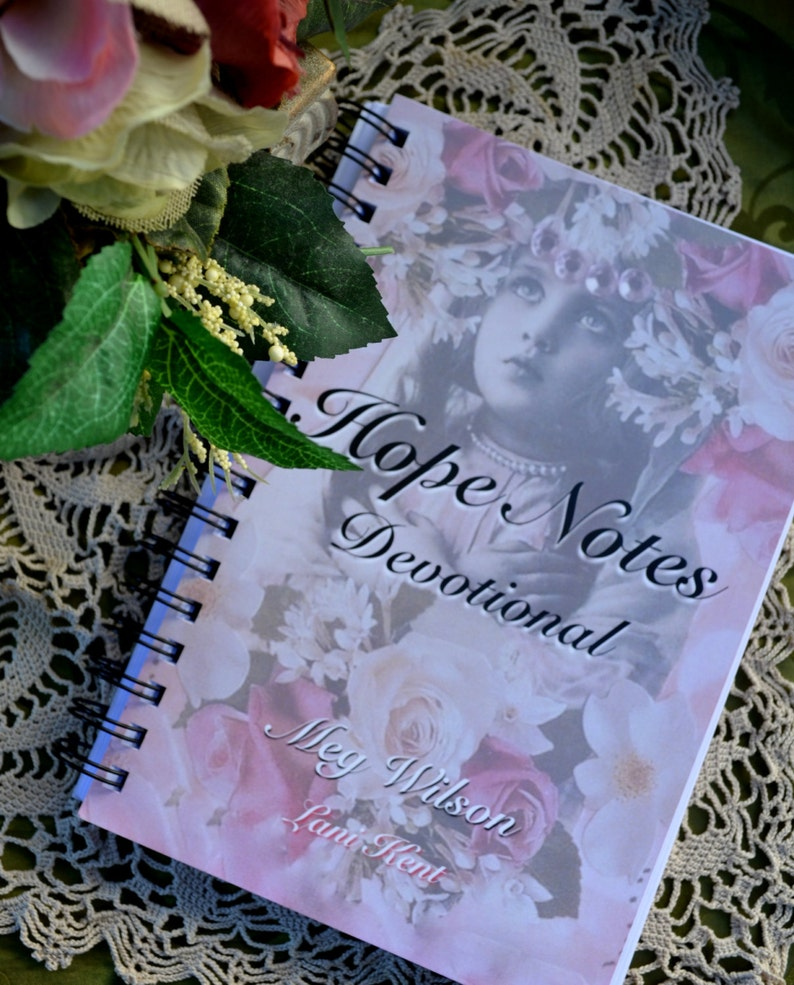 HOPE NOTES DEVOTIONAL grief loss trauma betrayal sexual abuse cancer  recovery healing christian journal faith collage