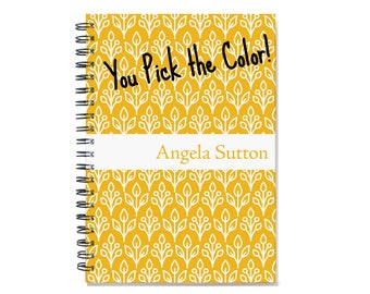 2018 18 month personalized planner, Start any month, weekly planner, 2018 2019 month customizable planner, floral design, SKU: epi cflower