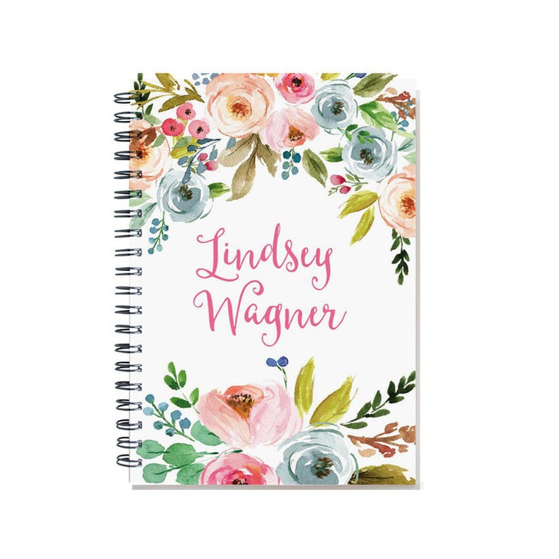 Personalized 18 month planner Start any month 2020-2021 image 0