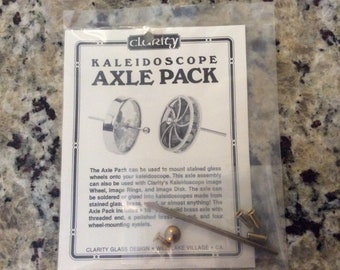 Kaleidoscope Axle Pack Kit & Image Rings with instructions