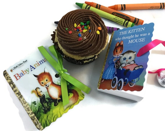 Little Golden Books Party Favors | 15 Personalized Book Themed Party