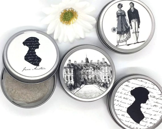 Jane Austen Organic Tea Tins Gift Boxed Set