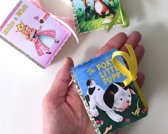 Little Golden Books Favor Boxes - Personalized Set of 50