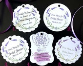 Lavender Custom Tags | 50...
