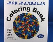 Mod Mandalas Coloring Book