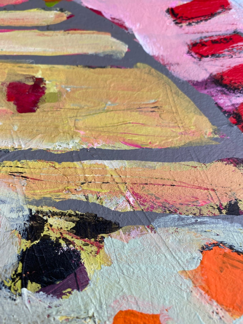 9 Abstract Intuitive painting City View No