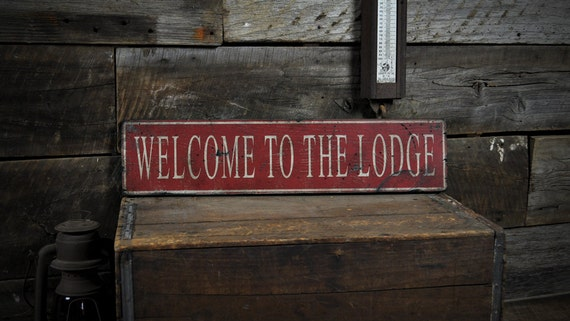 Custom Welcome To Our Jungle Family Sign Rustic Hand Made Wooden ENS1000583