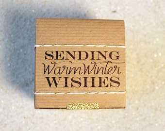 holiday // gift wrap // warm winter wishes // robincharlotte