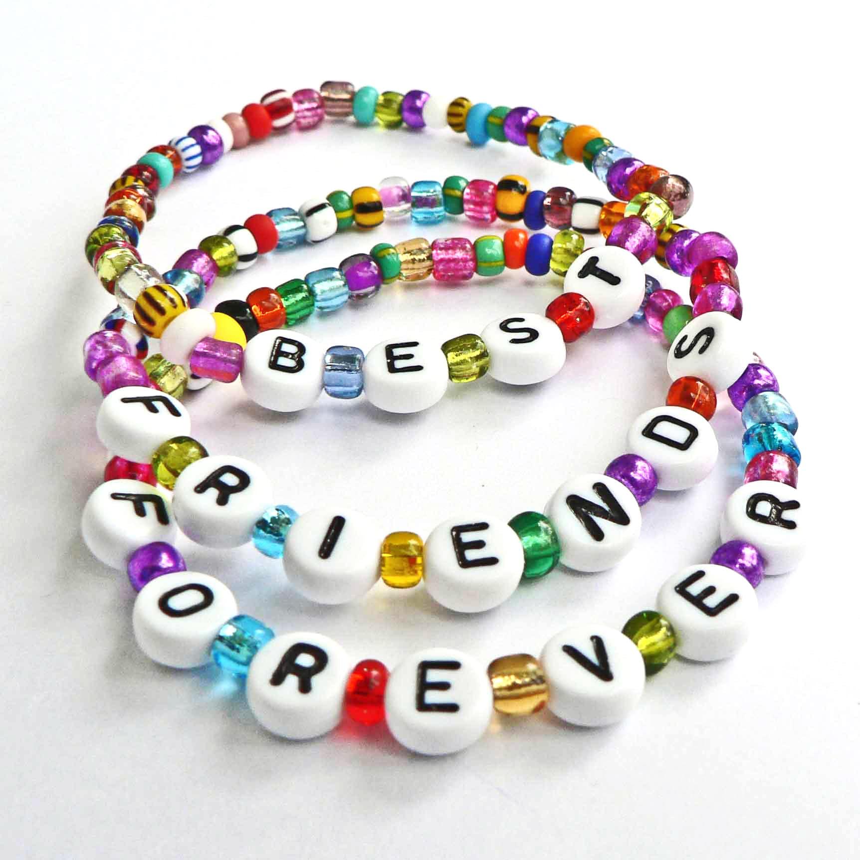 Stars Best Friends Party Bag Children Charm Bracelet Set Birthday Girls