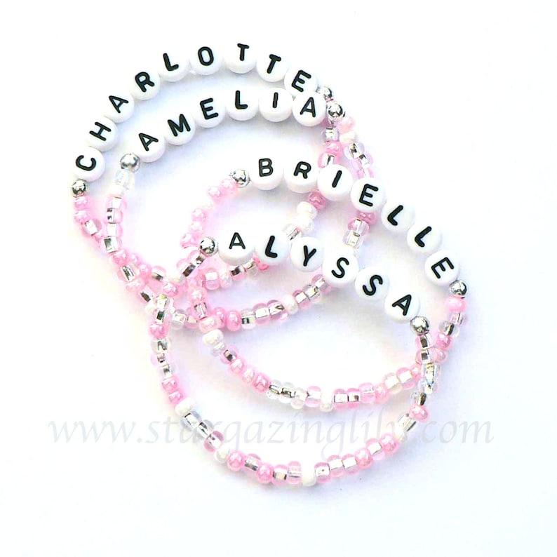 BEST SELLER  Personalized Name Bracelet. Party Favor Name image 0