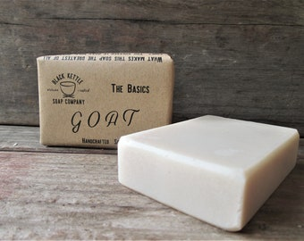 GOAT Goat Milk Soap -The Basics