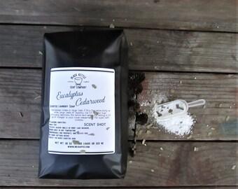 Laundry Soap - EUCALYPTUS + CEDAWOOD - 5 pound bag, Borax Free