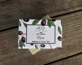 PURE 100% Olive Oil Soap
