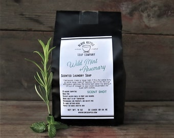 WILD MINT + ROSEMARY Laundry Soap Shipping Included