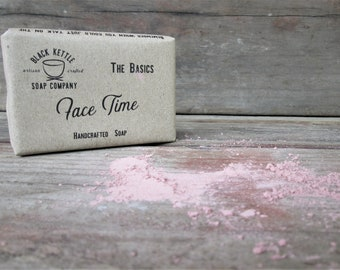 FACE TIME Organic Rose Clay Soap