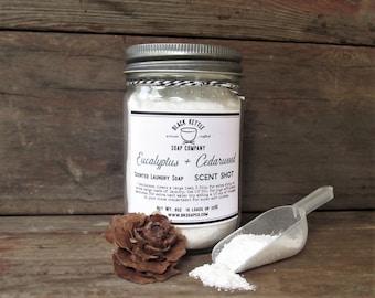 EUCALYPTUS CEDARWOOD Mason Jar Laundry Soap