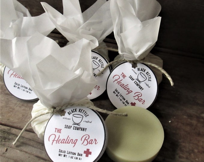 Featured listing image: THE HEALING BAR Natural Lotion Bar