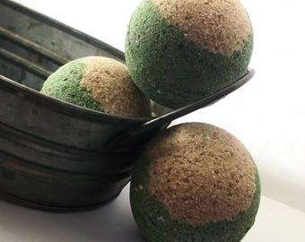 CEDAR and Mexican Chocolate Bath Bomb
