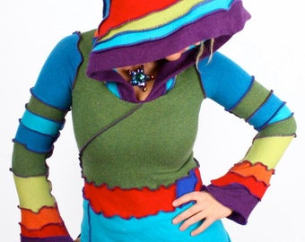 Katwise Hoodie Pattern - Recycled Sweater Ebook