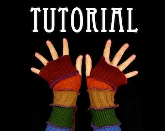 Arm Warmer Pattern - Great Christmas Gift idea - PDF