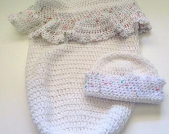 Weiße baby windeln set taufe taufe ostern tragbare decke ammer etsy