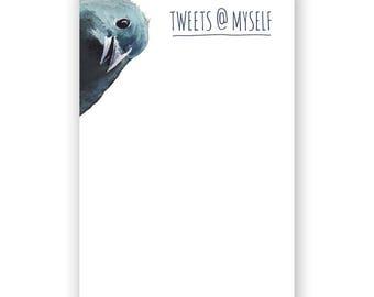 Tweets @ Myself Notepad