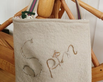 Spinning Wheel Accessory Bag