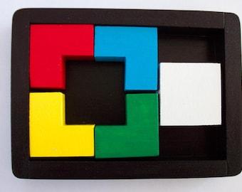 Four Squared Brain Teaser