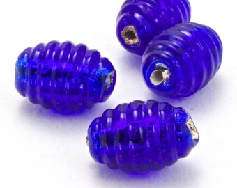 #GCU002 150 Pcs 8mm x 11mm Amethyst Faceted Oval Bead