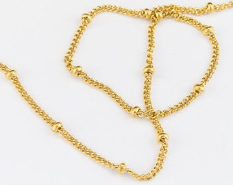 1.5mm x 1mm 14 Karat Gold Filled Cable Chain #BGA089