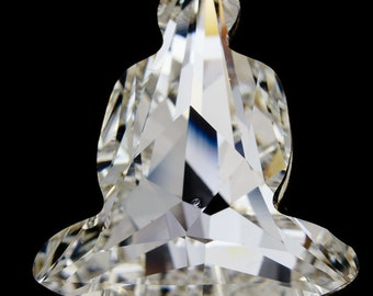 7e8c83a8d Swarovski 4779 18mm x 15.6mm Crystal Buddha Point Back