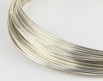 BeadSmith Silver Plated 24 Gauge German Wire by Wire Elements ~ 13.12 Yards