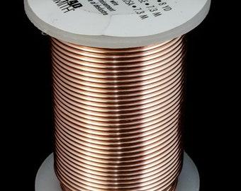 16 Gauge Gold Beadsmith Craft Wire 8 Yards #WRH107