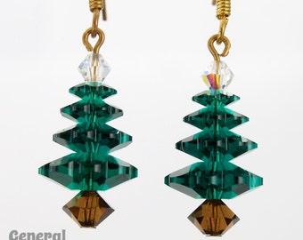 Christmas Tree Earring Kit (1 Pair)