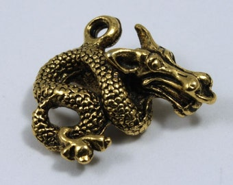 Antique Gold Dragon #CMB744