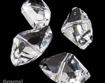5556 11mm x 19mm Crystal Swarovski Galactic Cut Bead (2 Pcs)