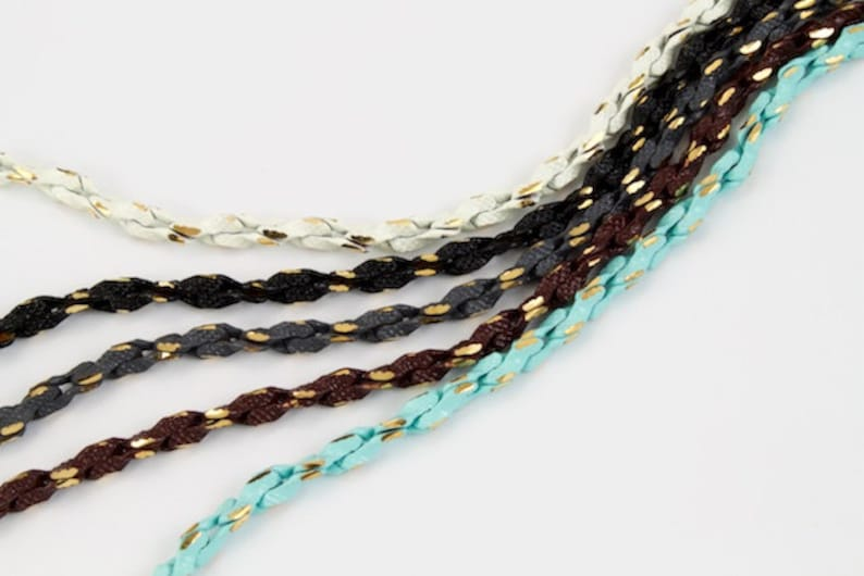 3mm BrownGold Rope Chain #CC133